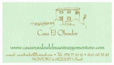 Casa El Obrador